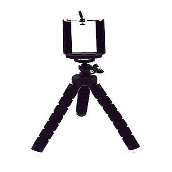 Mini Statív s diaľkovo ovládacou uzávierkou Bluetooth pre klip držiaka statívu telefónu fotoaparátu