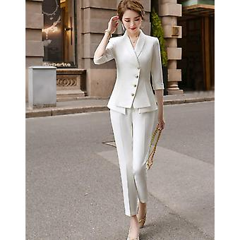 Casual Women's Suit Pants