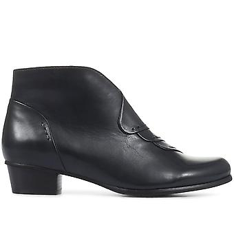 Regarde Le Ciel Womens Stefany Leather Ankle Boots