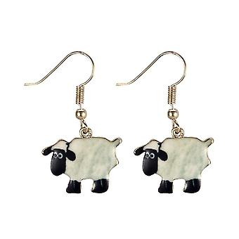 Bah Bah Sheep Drop Earrings
