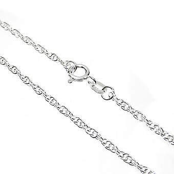 22 Inch Prince Of Wales Sterling Silver Chain Necklace .925 X1 Chains - 6390