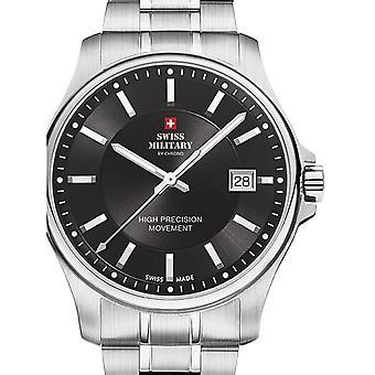 Reloj masculino militar suizo por Chrono SM30200.01, cuarzo, 39 mm, 5ATM