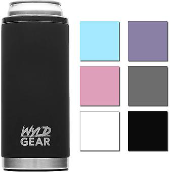 Wyld Gear 12 oz. Vacuum Insulated Stainless Steel Slim Can Cooler