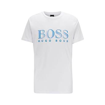 BOSS Athleisure Boss Big Logo T Shirt Blanc