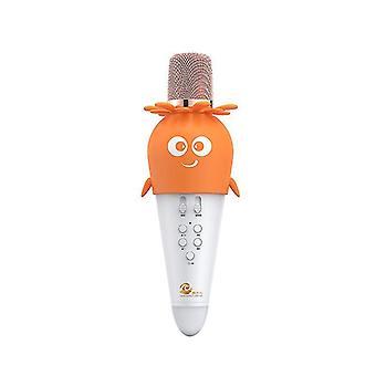 Langaton Bluetooth-mikrofoni, jossa säädettävät led-valot