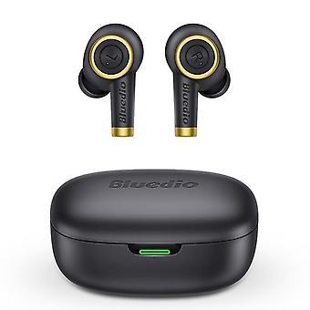 Wireless Bluetooth 5.0 Bass Waterproof Earbuds (black)