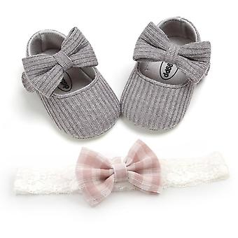 First Walkers Cotton Soft Solid Toddler Shoes - New Born Anti-slip Sneakers