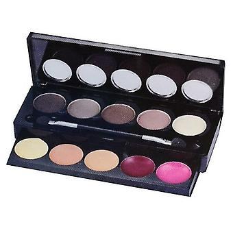 Mya Cosmetics 5 Shadow Pallets No, 400011-2