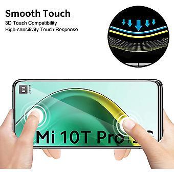 Wokex fr Xiaomi Mi 10T 5G / 10T Pro 5G Schutzfolie Panzerglas+Xiaomi Mi 10T 5G / 10T Pro 5G Kamera