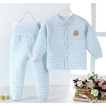 婴儿服装设置冬季新生儿服装长袖婴儿睡衣
