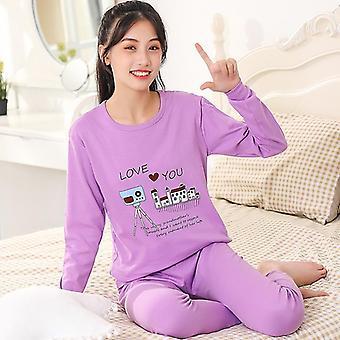 Winter Baumwolle Pyjamas Sets