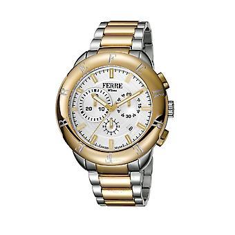 Ferre Milano Quartz Silver Dial Men's Watch FM1G006M0081