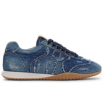 Sneaker Donna Hogan  Olympia-z In Denim Vintage