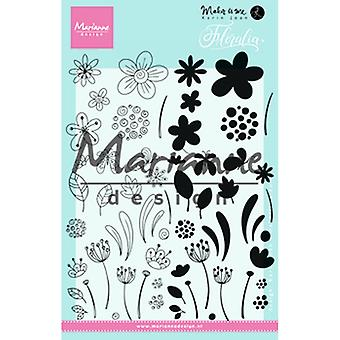 Marianne Design Floralia - Briefmarken