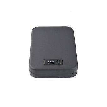 Portable Pistol Safe Mini Password Lock Gun Box Car Security Box