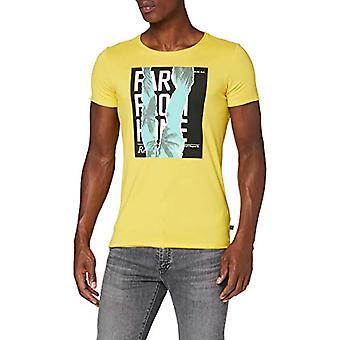 Q/S designed by T-Shirt Kurzarm, 14d0 Golden Yellow, XXL Men