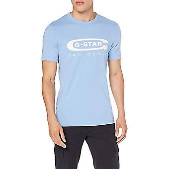 G-STAR RAW Grafisk 4 T-Shirt, Blå (Delta Blue 1852), X-Small Men