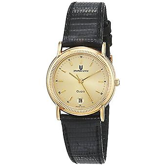 Universal Analog Watch Classic Quartz for Women with Leather Strap 556700/02