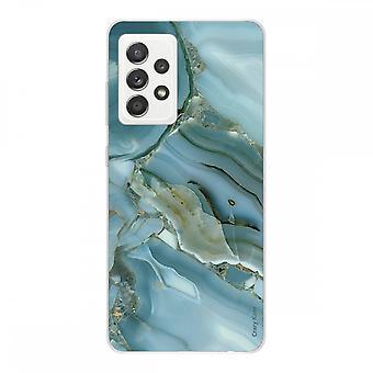 Copertina per Samsung Galaxy A52 Soft Silicone 1 Mm, design effetto marmo