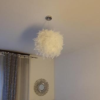 Solled Pendant Light Feather Romantic Dreamy Droplight