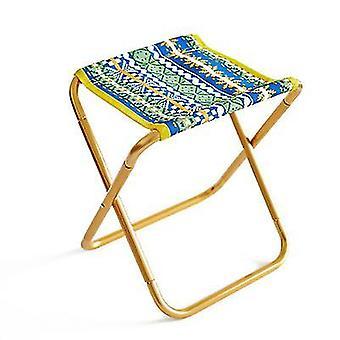 キャンプx527のための黄色のポータブル折りたたみ式スツールスラッカーチェア屋外折りたたみ椅子