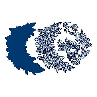 Tattered Lace Holiday Crescent Die Set
