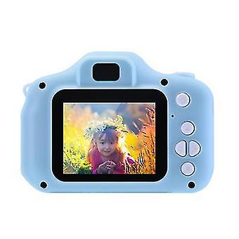 32G tf kortti sininen kannettava lasten videokamera x2 mini 2,0 tuuman hd 1080p ips värinäyttö lasten digitaalikamera az20917