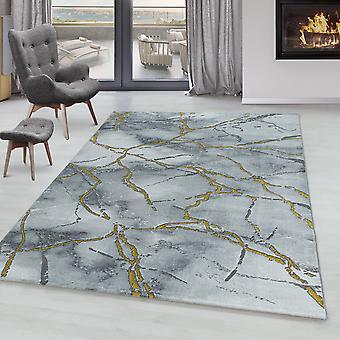 Stue Tæppe OXIA Kort bunke Design Mønster marmoreret
