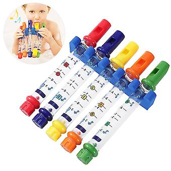 As shown toymytoy 5pcs kids bath water flutes bathing toys dt2305
