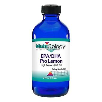 Nutricology EPA/DHA Pro Sitron, 8 Oz
