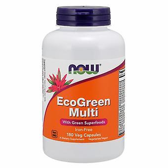 Nyt Elintarvikkeet Eco-Green Multi, 180 Veg Caps
