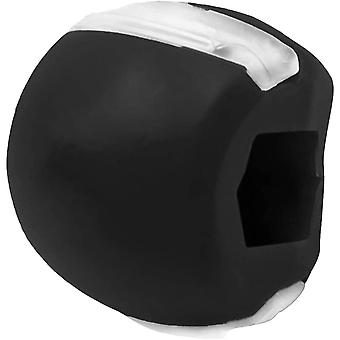 Jawline exercices Jaw Trainer Silicone Noir