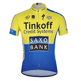 Maglia da ciclismo set short sleeve uomo bici da strada mountain mtb pro team set ciclo ciclo ciclo abbigliamento
