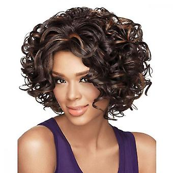 Fashion Hair Black Synthetic Wig Long Curly Wigs For Women