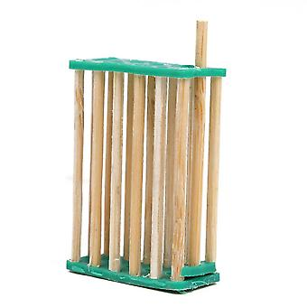10pcs Chinese Bee Bamboo Queen Cage Beekeeping Equipment