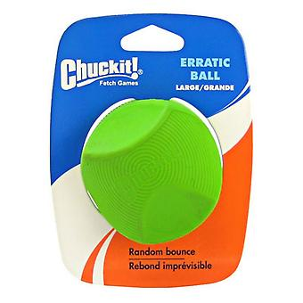 "Chuckit Erratic Ball for Dogs - Large Ball - 3"" Diameter (1 Pack)"