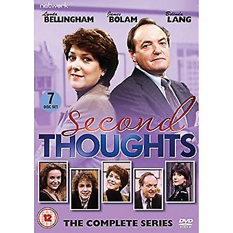 Second Thoughts: The Complete Series DVD