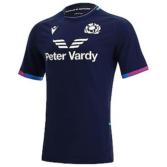 2021-2022 Ecosse Home Pro Body Fit Rugby Shirt