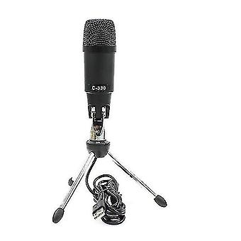 Microphones usb condenser microphone plug-and-play microphone for online chat on computer broadcast microphone