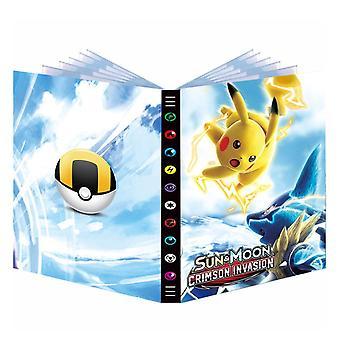 432pcs Album Buch für Pokemon Karte Cartoon Karte Ordner Spielkarten Vmax Gx Halter Sammlung Geladene Liste Kinder Spielzeug