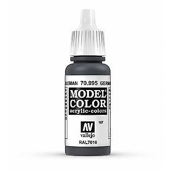 Vallejo Model Color 17ml Acrylic Paint - 995 German Grey