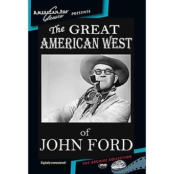 Great American West of John Ford [DVD] USA import