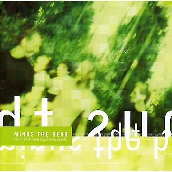 Minus the Bear - This Is What I Know About Bein [CD] USA import
