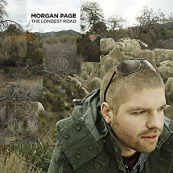 Page, Morgan/Lissie - Longest Road [CD] USA import