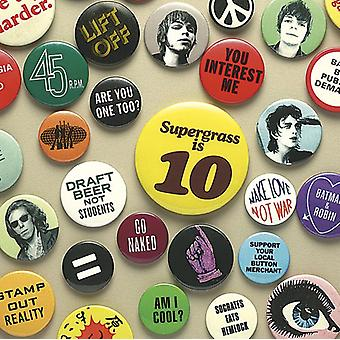 Supergrass - Supergrass Is 10: Best of 94-04 [CD] USA import