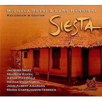 Ibert/Ravel - Siesta [CD] USA import