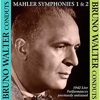 Bruno Walter - Mahler: Symphonies Nos. 1 & 2 [CD] USA import