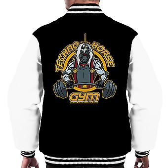 Techno Horse Gym Bravestarr Men's Varsity Jacket