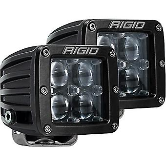 Rigid Industries 504713 D-Series Hyperspot Light; Surface Mount; 4 LEDs; Incl. Plug And Play Harness w/Switch/Mounting B