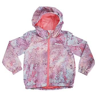 Bench Childrens Girls Magical Long Sleeve Showerproof Hooded Jacket